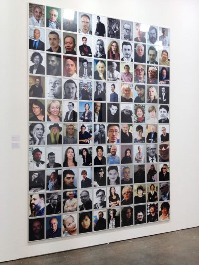 Jonas Lund <em>The Top 100 Curators In The World</em> at Unseen Photo Fair