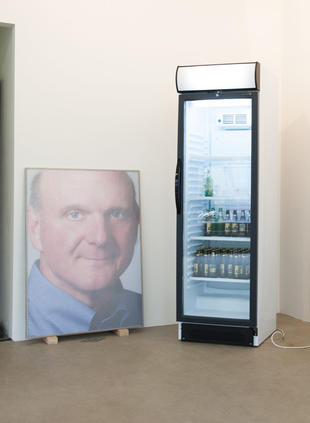 Jonas Lund Steve Ballmer, A Fridge and Six Crates Of Beer
