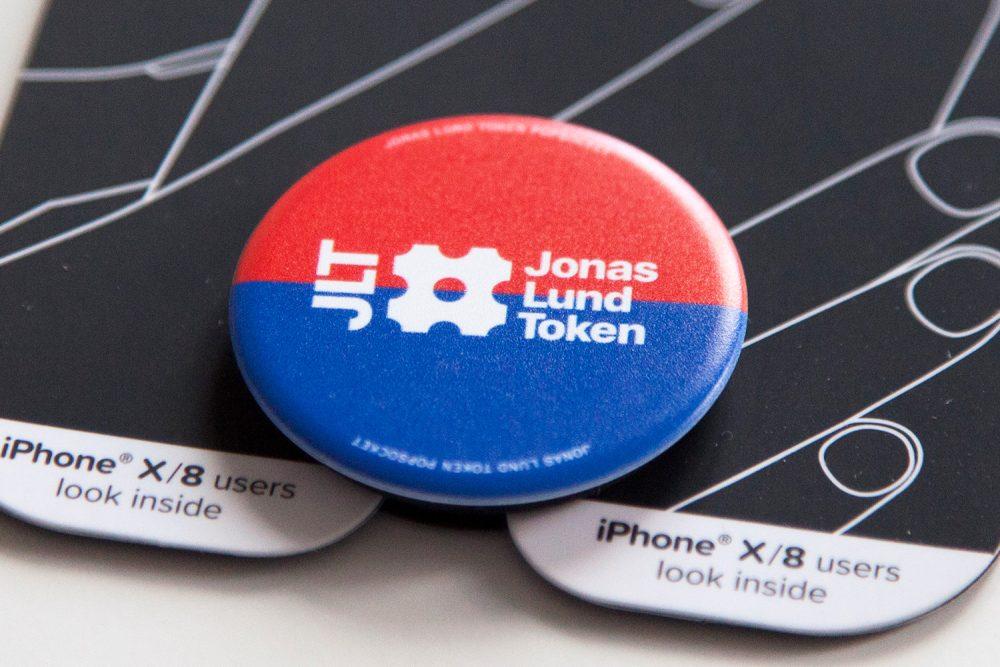Jonas Lund Jonas Lund Token (JLT) – PopSocket