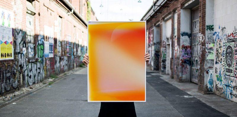 Jonas Lund No. 2 / No. 60,000 (Yellow, Orange, Red)