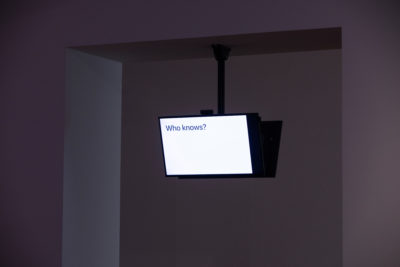Jonas Lund Daejeon Biennale 2020 — A.I., Sunshine Misses Windows