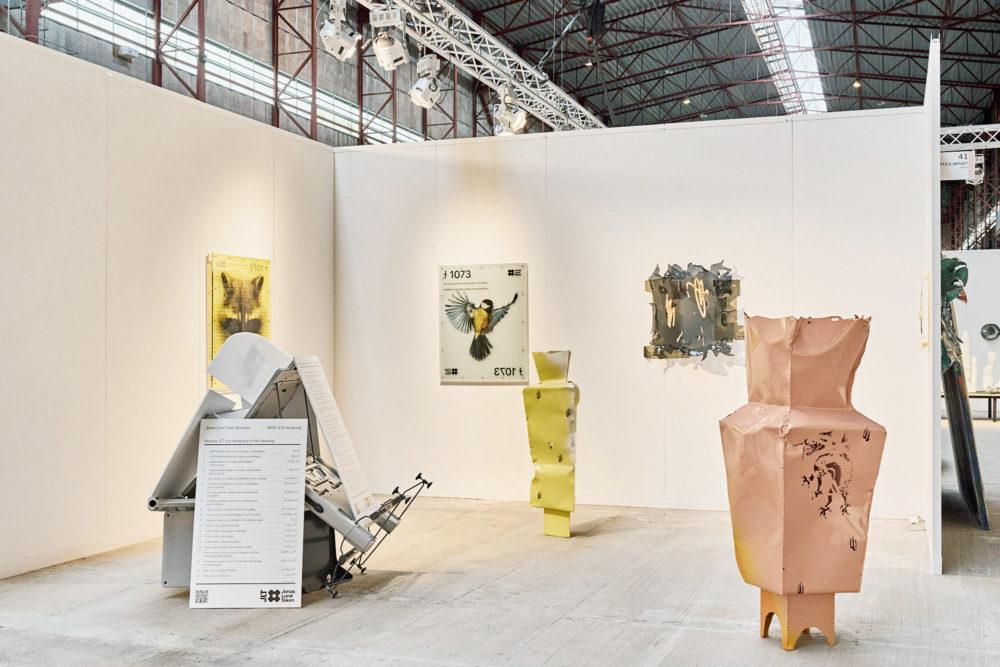 Jonas Lund Enter Art Fair with Office Impart