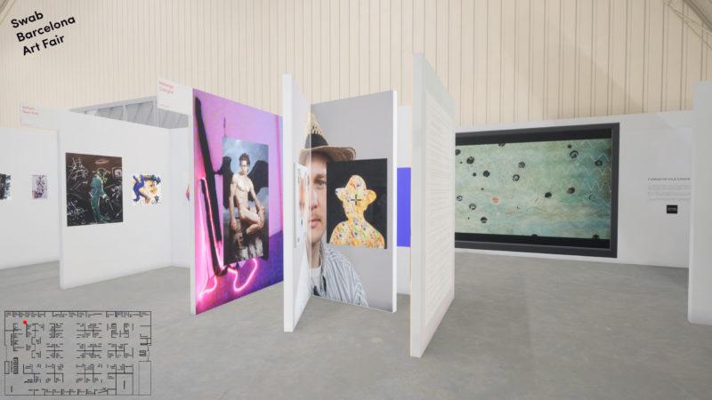 Jonas Lund Swab Art fair with Melange, Cologne