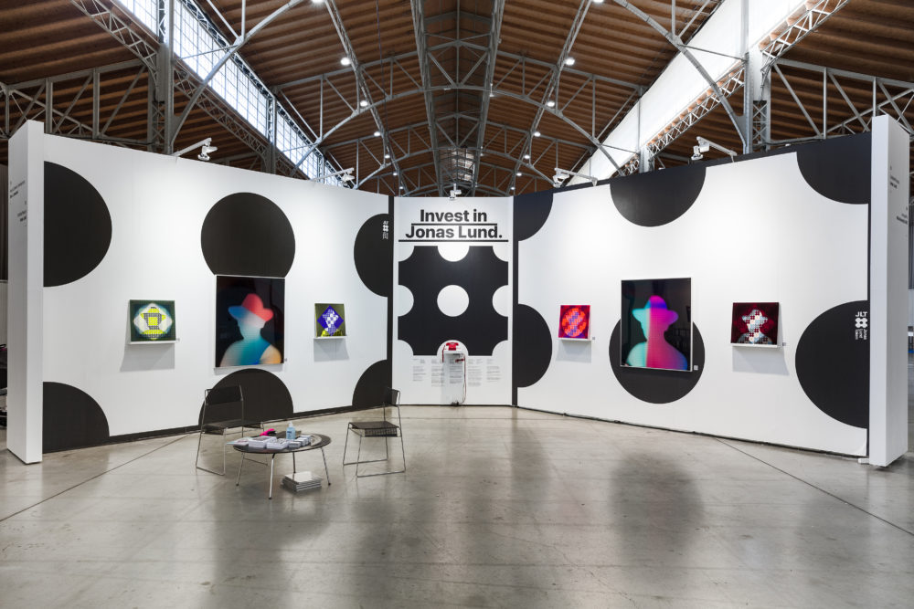 Jonas Lund Spark Art Fair with Untitled Projects
